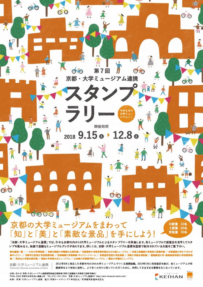 第7回京都・大学ミュージアム連携スタンプラリー